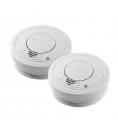 EstAlert Optical Smoke Alarm with hush - Twin pack